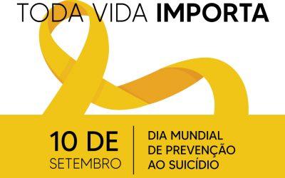 10 de setembro – Dia Mundial da Prevenção ao Suicídio